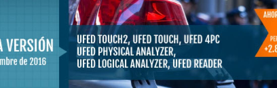 UFED 5.4 proporciona acceso a evidencia más amplia y mejora la productividad, mediante usabilidad mejorada.